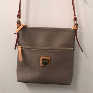 Dooney & Bourke Taupe Crossbody